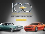 Chevy Turns 100: Vote For Your Favorite Chevy Of All Time