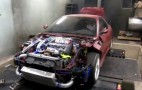 1,000-HP AWD Fiat Coupe With Mitsubishi 3000GT Drivetrain: Video