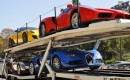 11 supercars owned by Teodoro Obiang Nguema Mbasogo were seized in Paris