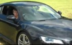 11-Year Old Takes Audi R8 For A Spin: Video
