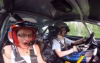 13-Year-Old Finn Rally Driver Scares Hilarious Passenger: Video
