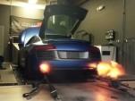 1,300-horsepower Audi R8 V10 shoots flames on the dyno
