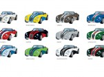 18 different Wiesmann Roadster MF3 Sieger editions