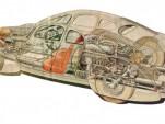 1934 Auto Union Type 52 engineering sketch