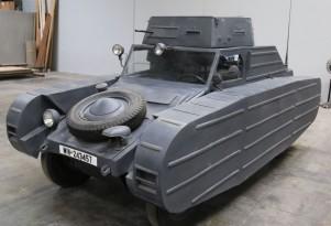 1939 Porsche Volkswagen Type 82/3 Dummy Tank for sale