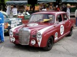 1959 Mercedes-Benz 190d biodiesel race car [Image: eBay auction]