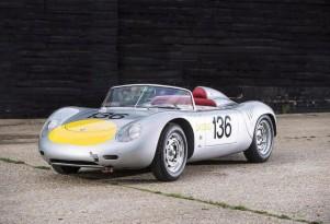 1961 Porsche 718 RS-61 race car owned by Sir Stirling Moss - Image via Bonhams