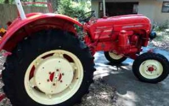 This Porsche Pulls Like A Tractor, Because It Is One