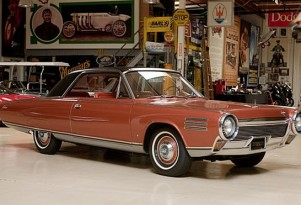 1963 Chrysler Turbine. Image via Jay Leno's Garage