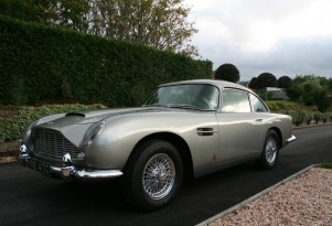 1965 Aston Martin DB5 going under the hammer with Silverstone Auctions
