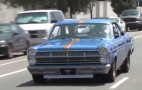 Jay Leno drives a Ford Fairlane 500 with period-correct mods