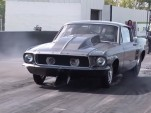 1967 Ford Mustang with a Chevrolet small-block