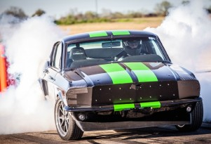Ford Mustang Electric Drag Car Does 0 To 60 MPH Under 2 Seconds, Targets 200 MPH