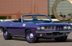 Rare 1971 Plymouth Hemi 'Cuda Convertible Heads To Auction