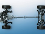 Subaru symmetrical all-wheel drive technology