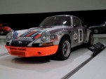 1973 Porsche 911 Carrera RSR on display at the Porsche Museum