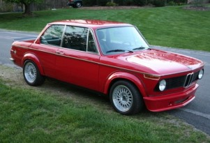 1974 BMW 2002 Turbo powered by an M20 six-cylinder