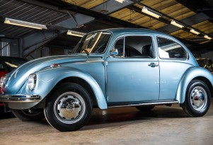 1974 Volkswagen Beetle with 90 kilometers