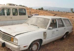 Rare 1980 Ford Fairmont EVA Electric Conversion For Sale