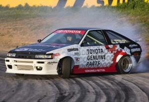 1984 Toyota AE86 drift car