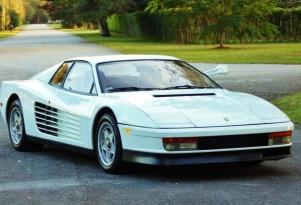 1986 Ferrari Testarossa from 'Miami Vice' - Image via eBay Motors