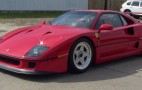 eBay Watch: Ferrari F40 With Buy It Now Price Of $595,000