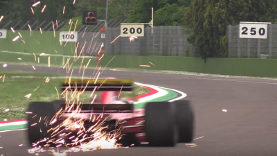 1991 Ferrari 643 shows off its wonderful V-12 sound