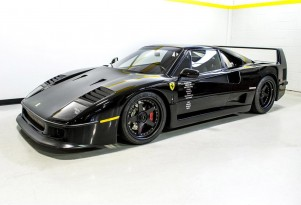 1991 Ferrari F40 restored on television series Fast N' Loud - Image via Barrett-Jackson