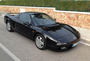 1992 Acura NSX once owned by Ayrton Senna