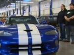1992 Dodge Viper pre-production unit with VIN #4 - Image via KING