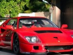 1992 Ferrari F40 converted to LM spec. Images via Hemmings.