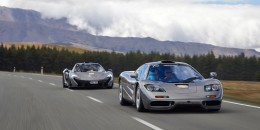 1994 McLaren F1 prior to crash near Queenstown, New Zealand on December 3, 2016