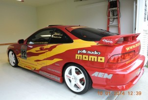 1996 Acura Integra GS-R from The Fast and the Furious. Photo by eBay user jim19490.