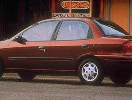 1997 Geo Metro LSi