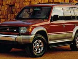 1997 Mitsubishi Montero SR