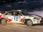 1997 Toyota Celica WRC rally car
