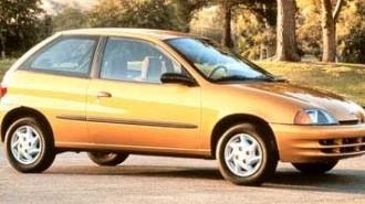 1998 Chevrolet Metro Lsi
