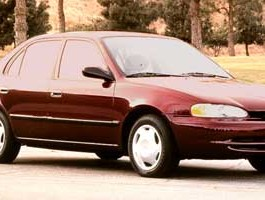 1998 Chevrolet Prizm 