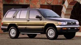 1998 Nissan Pathfinder LE