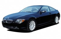 2005 BMW 6-Series 645Ci 2-door Coupe Angular Front Exterior View
