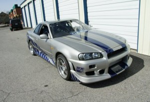 1999 Nissan Skyline GT-R R34 from '2 Fast 2 Furious'