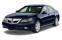 2009 Acura RL 4-door Sedan Tech/CMBS w/PAX (Natl) Angular Front Exterior View