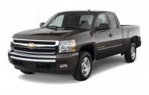 "2010 Chevrolet Silverado 1500 2WD Ext Cab 157.5"" LT Angular Front Exterior View"