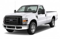 "2009 Ford Super Duty F-250 2WD Reg Cab 137"" XL Angular Front Exterior View"