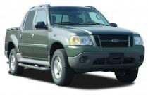 "2003 Ford Explorer Sport Trac 4-door 126"" WB XLT Premium Angular Front Exterior View"