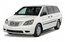 2010 Honda Odyssey 4-door Wagon LX Angular Front Exterior View