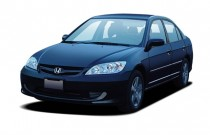 2005 Honda Civic Sedan EX AT SE Angular Front Exterior View