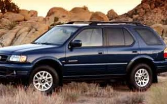 1998-2002 Honda Passport Recalled For Suspension Rust