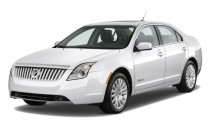2010 Mercury Milan Hybrid 4-door Sedan Hybrid FWD Angular Front Exterior View