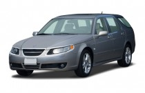2006 Saab 9-5 4-door Wagon 2.3T Angular Front Exterior View